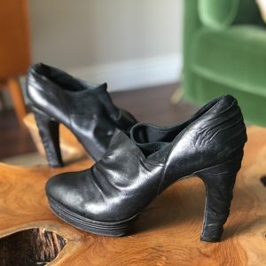 All Saints platform heels